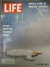 LIFE April 22, 1966 Siberia, Magritte, Atlanta Braves, Churchill, African dances