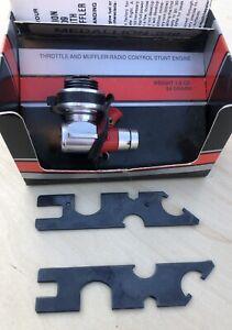 Vintage Cox .049 Engine: Medallion 2501 w/ Throttle Control in Original Box
