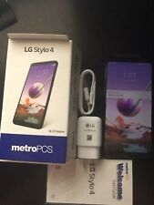 NEW LG Stylo 4 32 GB - GSM Unlocked Metro PCS, T-Mobile AT&T, Black