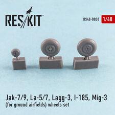 Reskit - 48-0030 - Jak-7/9, La-5/7, Lagg-3, I-185, Mig-3 (for ground airfields)