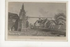 Waltham Cross 100 Years Ago Vintage Postcard 277b