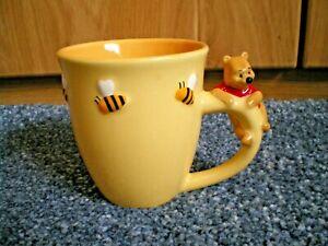 New 'Winnie The Pooh & Bees' Yellow Mug