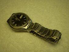 Seiko 5 Mens Automatic Wrist Watch 38mm SS Bracelet Date & Day Runs Serviced