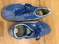 Puma squash trainers blue 9 UK  old school