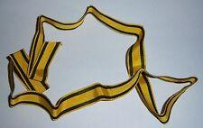 "GERMAN - Württemberg, Merit Medal ribbon. 3"" Length of  ORIGINAL. 15mm wide."