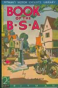 BSA Motorcycle Book 1937 Empire Star B25 G14 M19 M20 M23 Y13 M24 Gold Star
