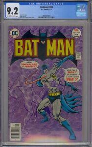 BATMAN #283 CGC 9.2