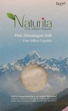 Naturita Pink Himalayan Salt - Coarse Crystals 1kg