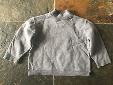 Zara Baby Grey Polo Neck Jumper 12-18 Months