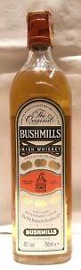 BUSHMILLS THE ORIGINAL IRISH WHISKEY (VINTAGE ANNI '80) - 70 CL.