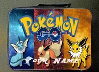 RED Personalised Custom Pokemon Insulated School Lunch Bag 24CM X 18CM