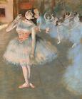 The Star Edgar Degas Ballerina Print CANVAS Painting Reproduction Poster Small