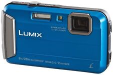 PANASONIC Lumix DMC-FT30 EB-A Tough Compact Camera in Blue (UK Stock) BNIB