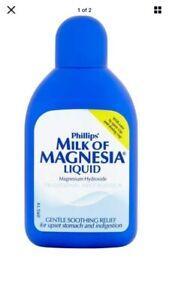 1x Sealed Milk Of Magnesia 200ml Expires 09/ 22 Original Mint