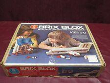 Sears Brix Blox 785 pc Set Bricks Blocks Gears & Other Construction Stuff
