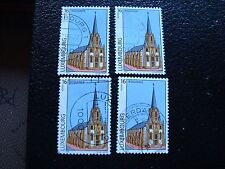 LUXEMBOURG - timbre yvert et tellier n° 1395 x4 obl (A30) stamp
