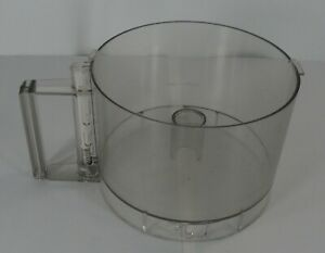 Cuisinart DLC-5 TX Food Processor Replacement Work Bowl Clear