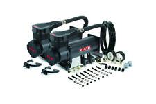 Viair 485C Stealth Black Dual Pack Air Compressors Air Ride Bag Suspension Pump