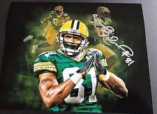 Koren Robinson Signed 8x10 Custom Photo Green Bay Packers
