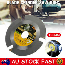 3 Tooth 125mm Angle Grinder Chain Disc 12200rpm Wood Carving Cutting Saw Blade