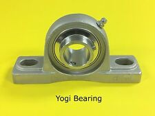 """1"""" Stainless Steel Pillow Block Bearing SUCSP205-16 - Solid Base"""