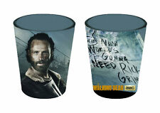 Officially Licensed The Walking Dead Rick Shot Glass