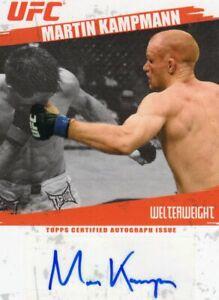 Martin Kampmann 2009 Topps UFC Round 2 Autograph Card