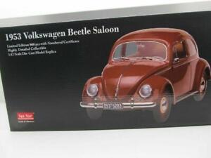 Volkswagen VW Coccinelle 1200 Brezel Braun 1:12 Sunstar 1953 Neuf 5203 Nur 900