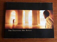 The Talented Mr. Ripley Press Book Matt Damon Jude Law Gwyneth Paltrow