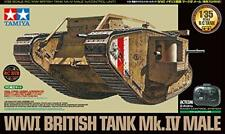 TAMIYA 48214 1/35RC TANK SERIES NO.14WWI BRITISH TANK MARK IV WITH SPECIAL PROPO