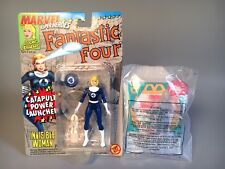1994-1996 INVISIBLE WOMAN Figures CATAPULT & COLOR CHANGE Happy Meal MOC Toy Biz