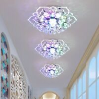 20cm Modern Crystal LED Ceiling Light Fixture Hallway Pendant Lamp Chandelier