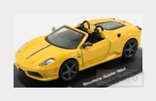 Ferrari F430 Scuderia 16M Spider 2008 Yellow BURAGO 1:32 BU44018Y