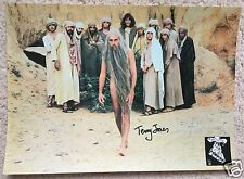 TERRY JONES SIGNED MONTY PYTHON THE LIFE OF BRIAN LOBBY CARD - UACC AUTOGRAPH