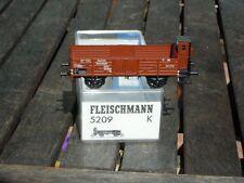 Fleischmann 5209 K wagon de marchandises ouvert Halle O avec guérite de frein