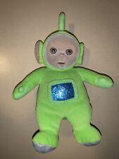 Eden Teletubbie DIPSY Green Plush Stuffed Bean Bag Doll Toy VINTAGE 1998