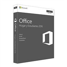Microsoft - Office Mac Home Student 2016es LICs Euzn Mdls