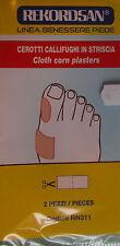 CEROTTI CALLIFUGHI IN STRISCIA Rekordsan cloth corn plasters per benessere piedi