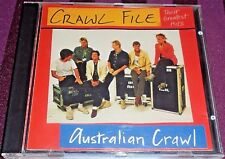 AUSTRALIAN CRAWL - CRAWL FILE THEIR GREATEST HITS -14 TRACK CD- (MADE IN JAPAN)