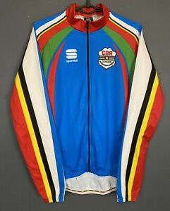 MEN'S SHIRT SPORTFUL LONG SLEEVE CYCLING CYCLISMO JERSEY MAGLIA MAILLOT SIZE L 4