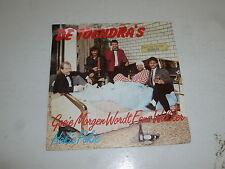 """DE TOENDRA'S - Goeie Morgen Wordt Eens Wakker - 1987 2-Track 7"""" Juke Single"""