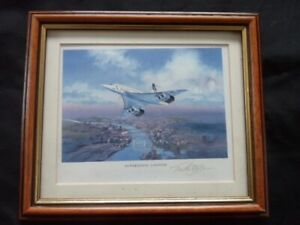 CONCORDE SUPERSONIC LONDON SIGNED PICTURE
