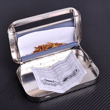 Automatic Cigarette Rolling Case Tobacco Roller Maker Box Tin Machine Stainless