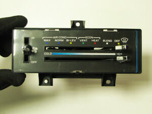 78-89 Chevrolet Van G10 G20 G30 AC Heat Temperature Climate Control Switch Panel