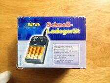 Carat Electronics 2100 mAH AA Battery Charger for 230 VAC, NOS