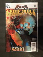 CRIME BIBLE CINQUE Lessons of Blood #5 NM- 1st Stampa Dc Comics