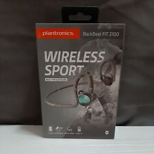 Plantronics BackBeat Fit 2100 Wireless Headphones Sweatproof Waterproof - Back
