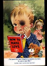 AMOUR D'ENFANCE / HOW TO MAKE LOVE ... illustré par A. TAYLOR TOT