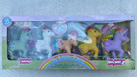 My Little Pony MLP Classic 35th Anniversary RAINBOW Gift Set 5 Scented Ponies