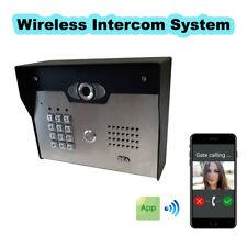 SEACOM Security Access Control Wireless Intercom System Video/Audio With Keypad